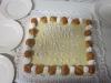 Pan di spagna con crema e cioccolato